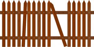 Fence Picket Broken