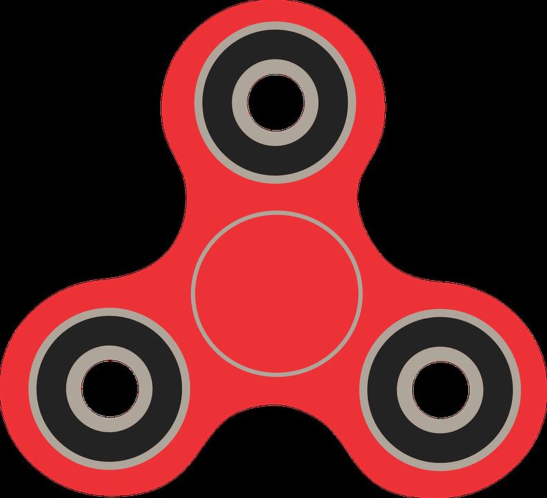 Fidget Spinner, Spinner, Vektör Görüntü, Vektör