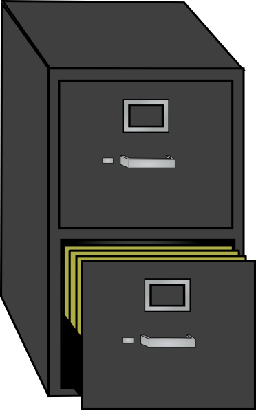 File Cabinet Clipart this image as: