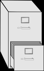 Filing Cabinet Clip Art