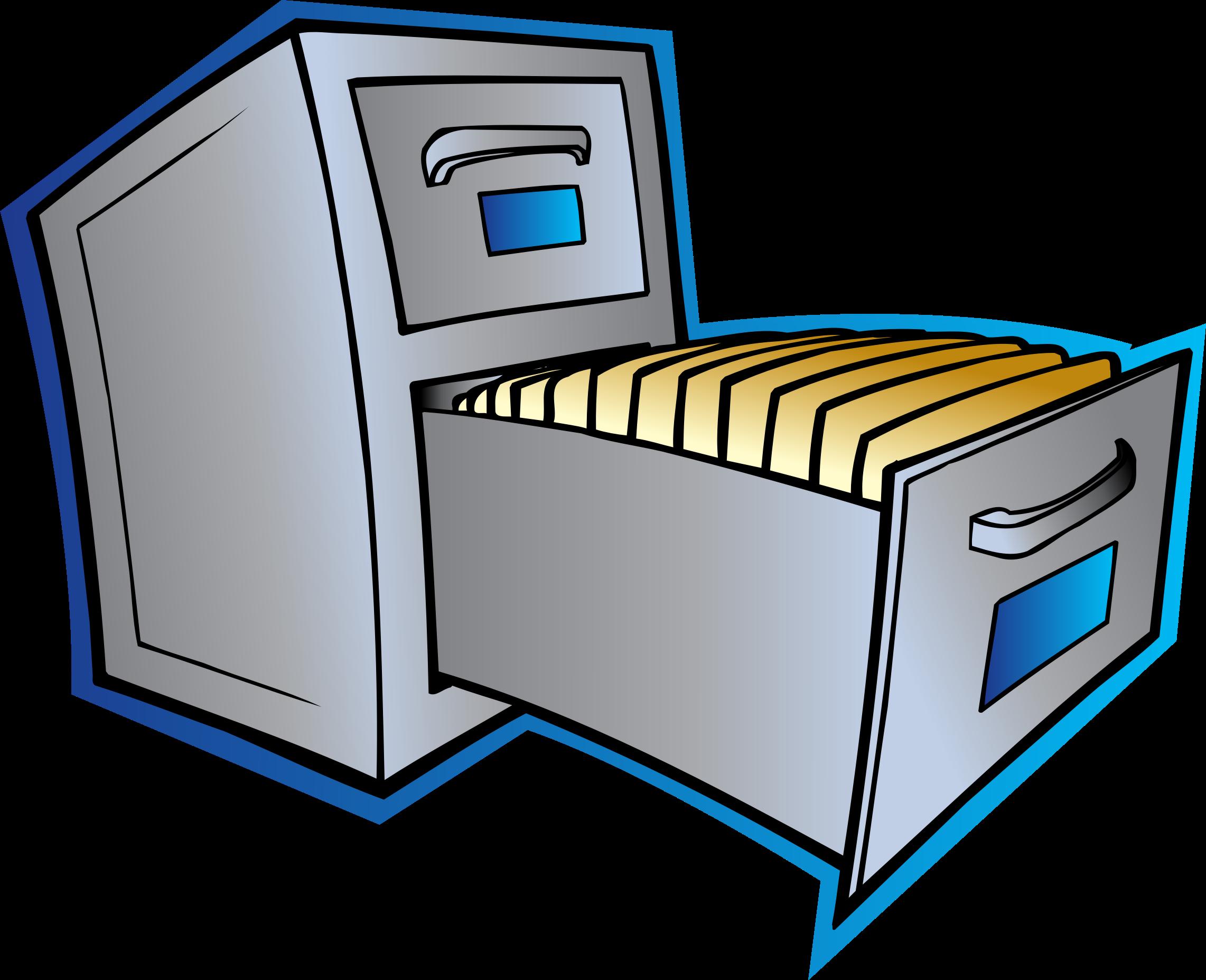 File Cabinet Clipart