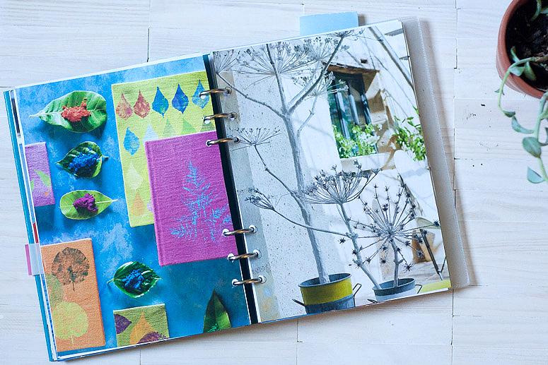 Filifax Friday - Journaling and the Clip Book - Callaloo Soup -5
