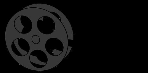Film reel vector illustrartion