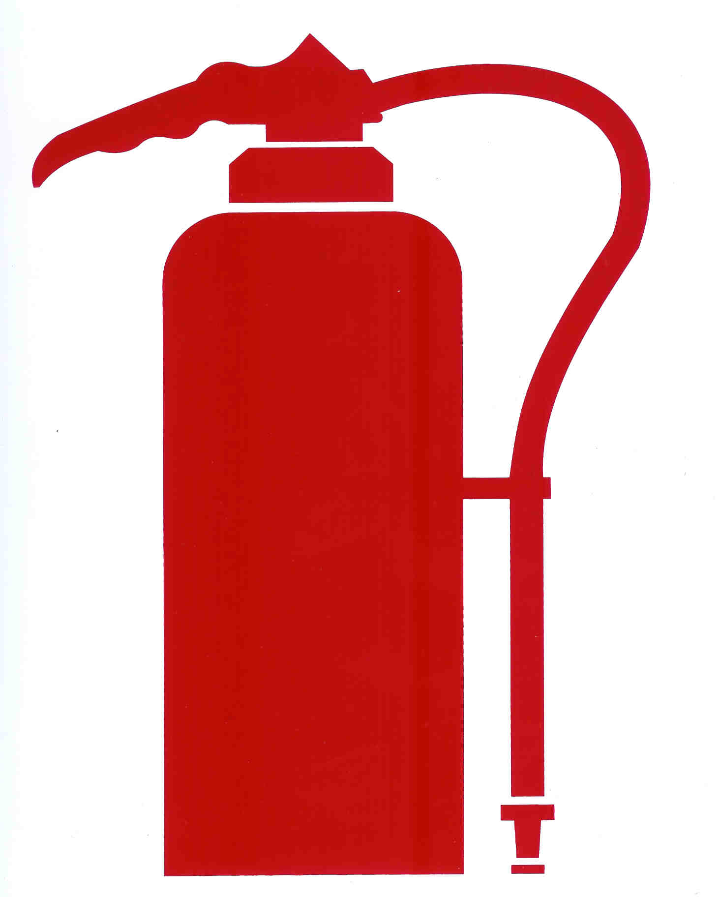 Fire Extinguisher Clipart - .