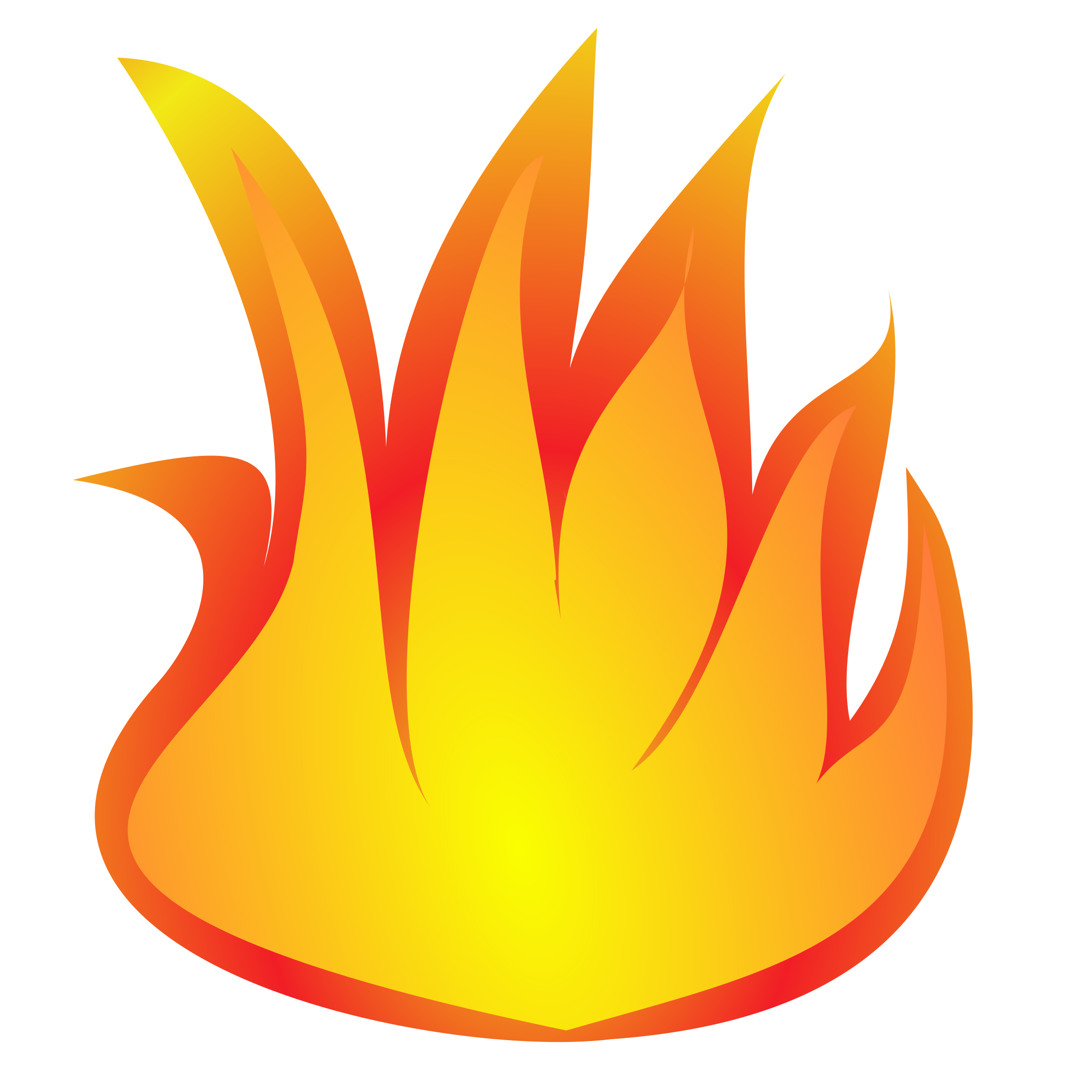 Fire flame clipart