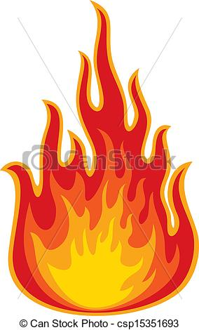 fire (flame) Stock Illustrationby ...