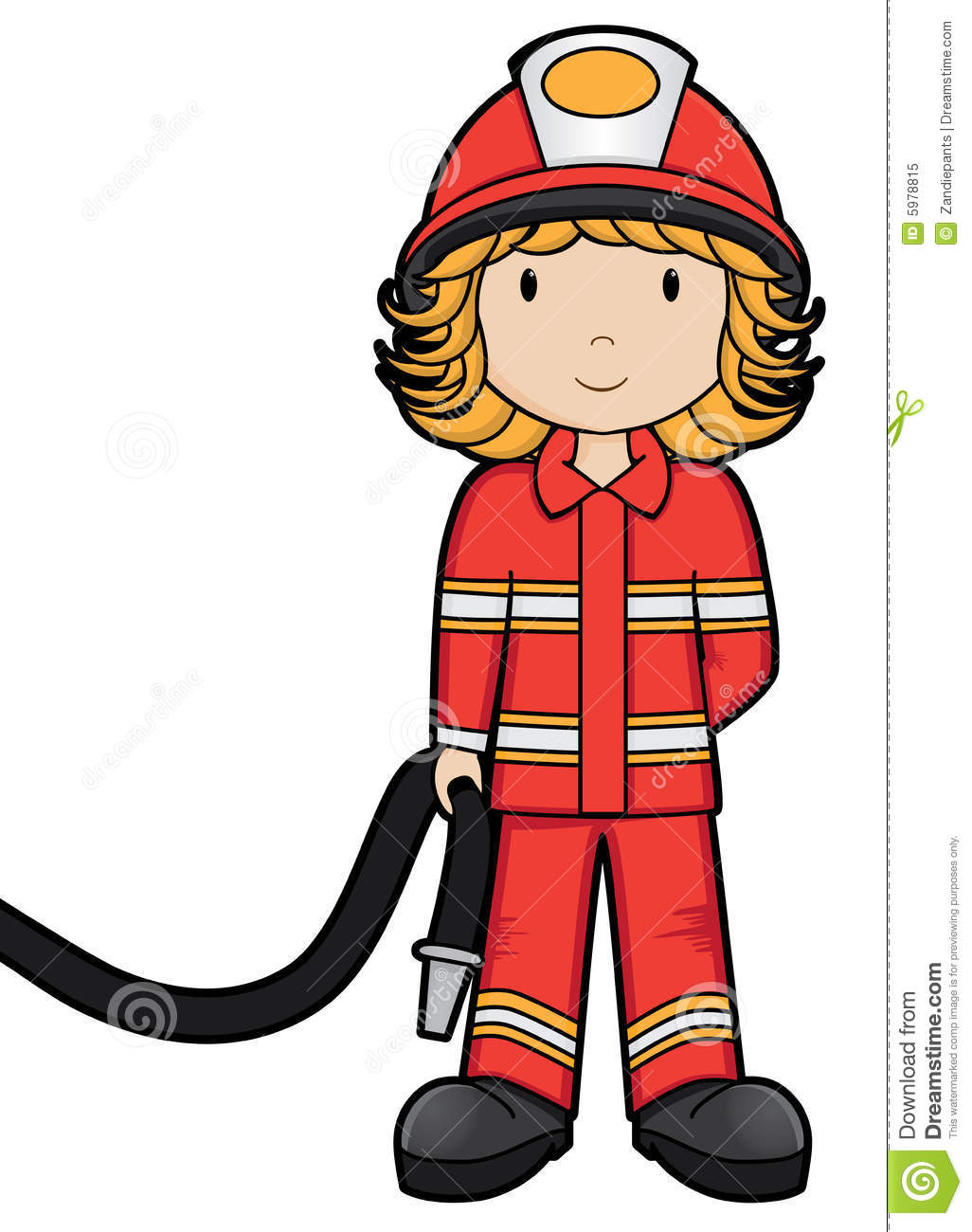 Fire Girl Vector Royalty Free Stock Photo Image 5978815