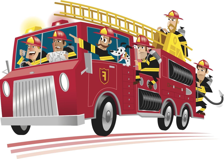 Fire Truck Clipart-hdcliparta - Fire Truck Clipart