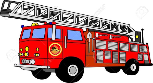 Fire Truck Clipart this image as: