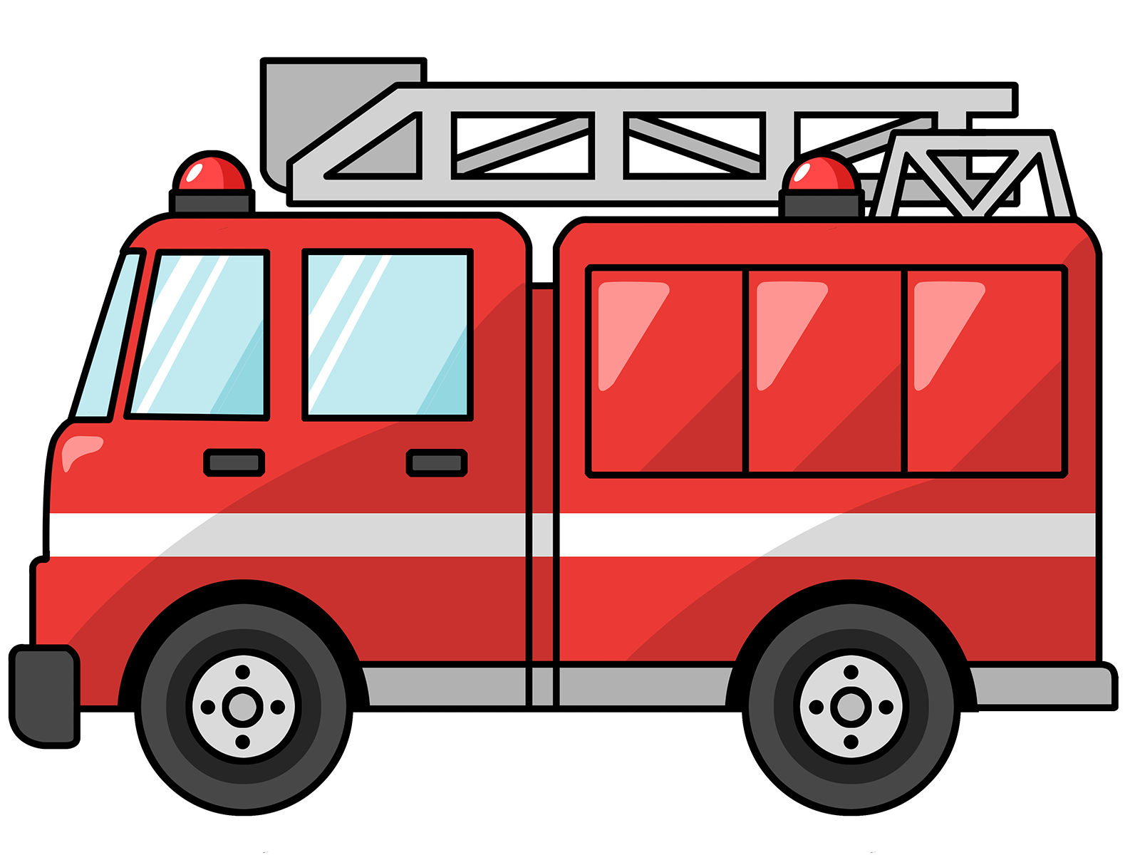 Fire Truck Free To Use Cliparts