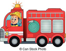 . hdclipartall.com Fire truck theme image 4 - eps10 vector illustration.