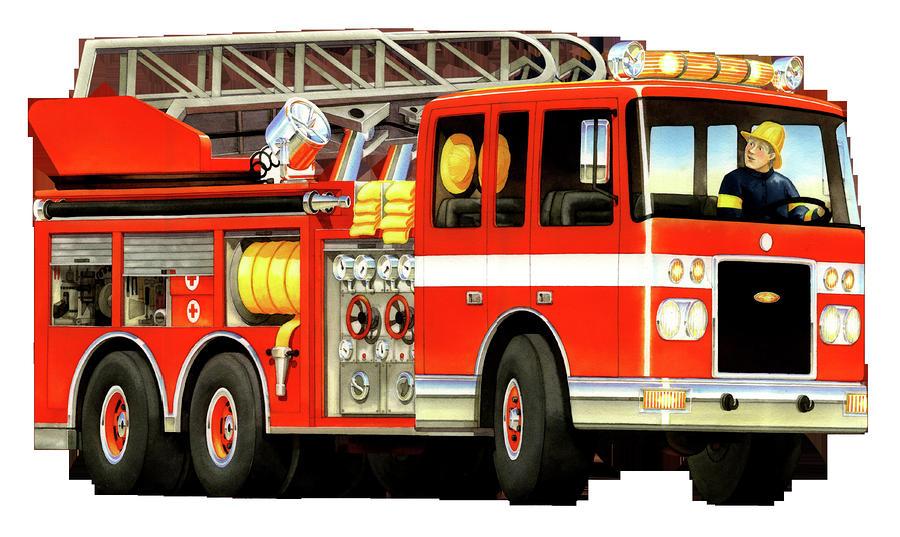 Fire truck fire engine clipart .