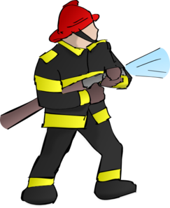 Fire Fighter Clip Art
