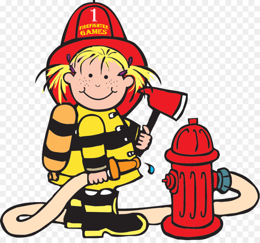 Firefighter Fire department Clip art - parts