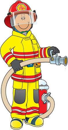 Free Fireman Clip Art of Fireman cute firefighter clipart free clipart  images image for your personal projects, presentations or web designs.