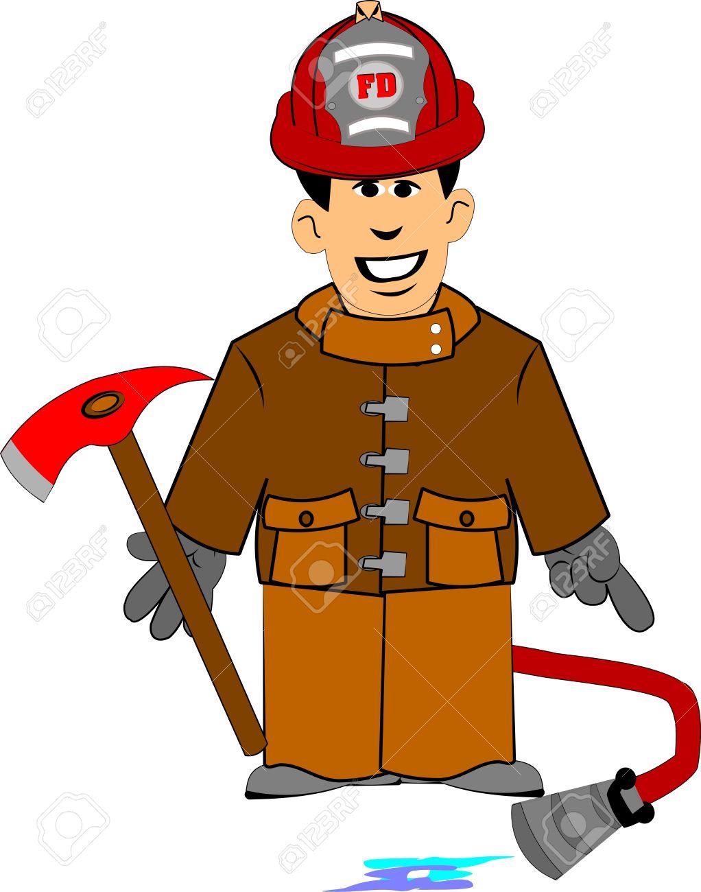 fireman clip art #13   67 Fireman Clipart   Clipart Fans