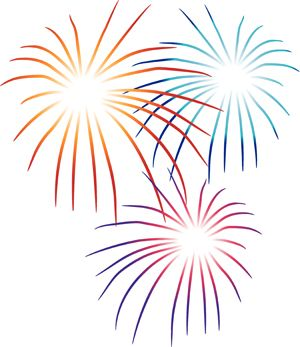 Fireworks Clipart | Fireworks Party, Plan a Fireworks Party, Plan a 4th of  July Party .