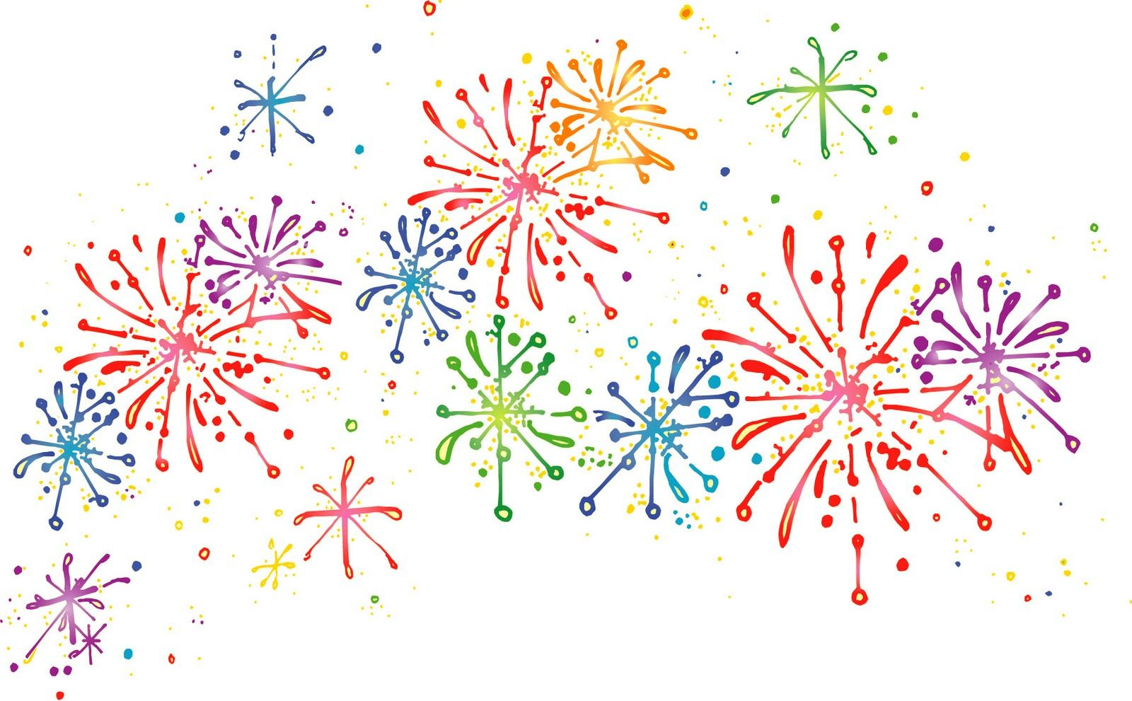 Fireworks clipart free