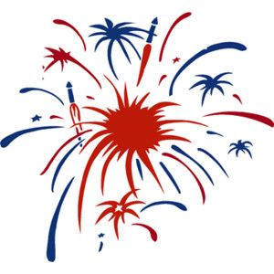Maercon Hairstyle fireworks clipart free