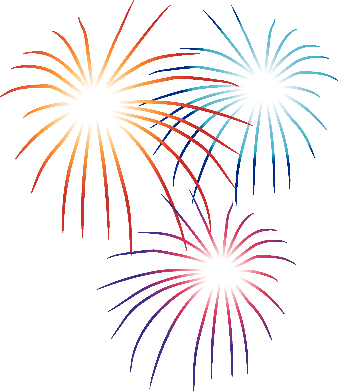 Fireworks firework clipart