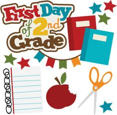 First Day Of 2nd Grade SVG .
