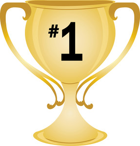 First place trophy clipart