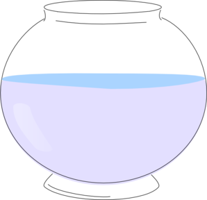 Empty Fish Bowl Clipart #1