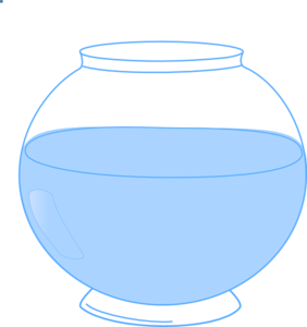 Fish Bowl Clip Art - Fish Bowl Clipart