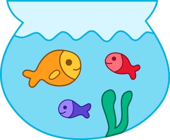 Fish Bowl Clip Art u0026 Fish - Fish Bowl Clipart