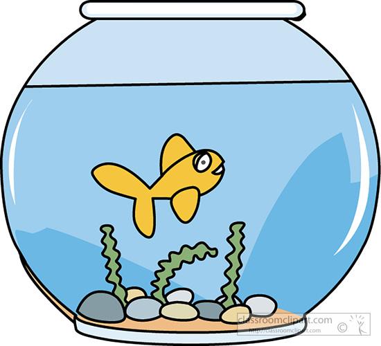 Fish Bowl Clip Art Fish Clipa - Fish Bowl Clipart