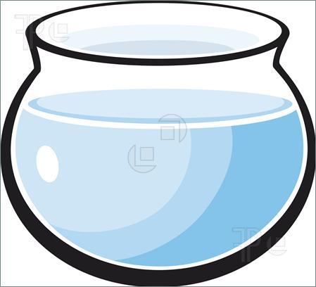 Fish Bowl Clipart - Fish Bowl Clipart