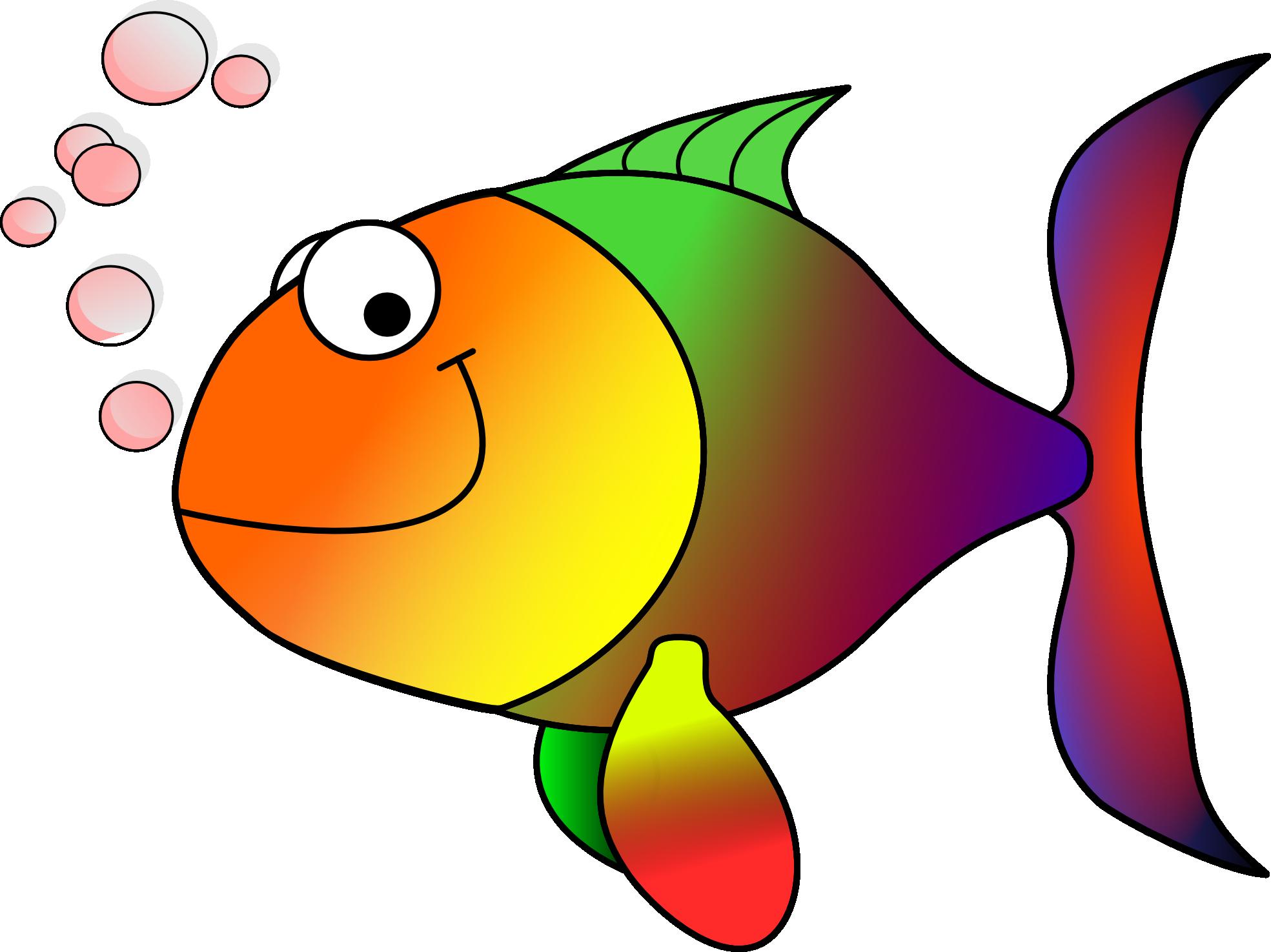 Fish clip art free clipart image