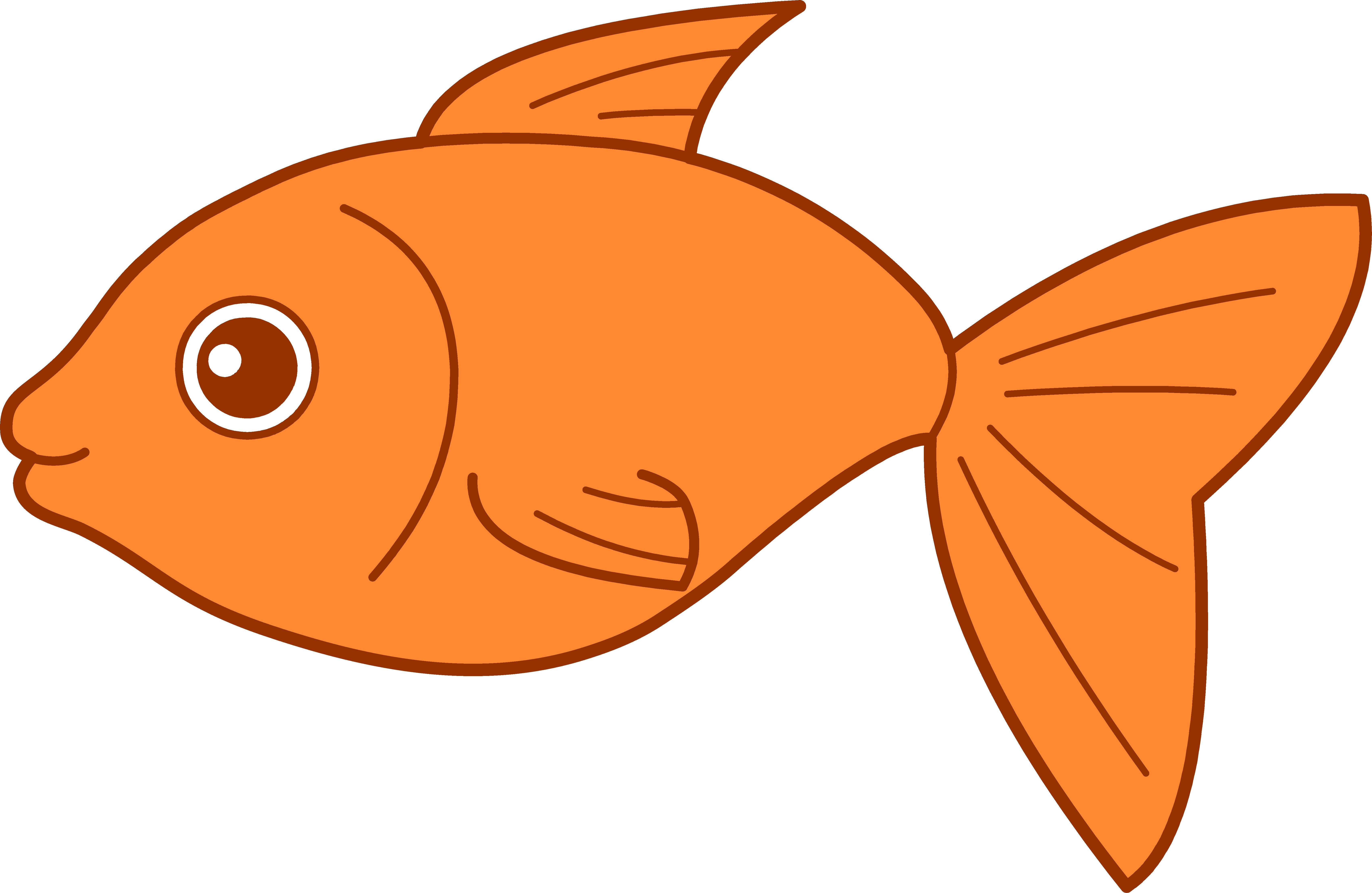 Fish clip art vector free clipart image