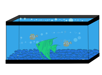 Fish Tank Cartoon Clipart Best