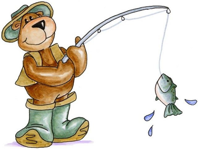 Fish Clipart, Going Fishing, Life Pictures, Digi Stamps, Wild Life, Teddy  Bears, Clip Art, Imagines, Picasa Web