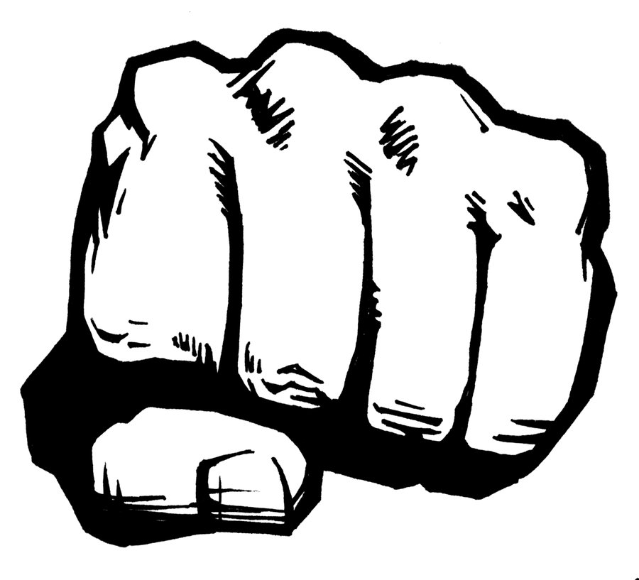 ... fist image; mma fighting clipart ...