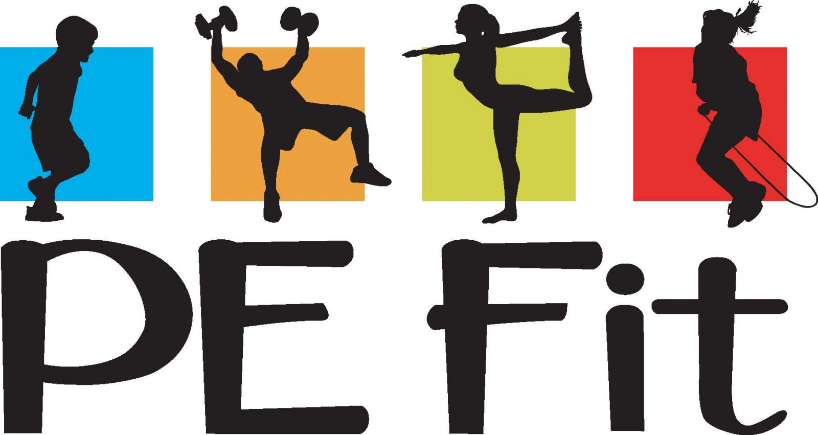 Fitness kids clipart collection