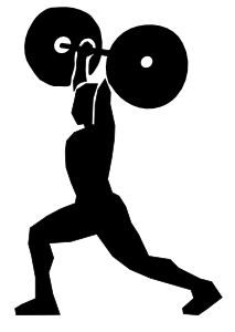 Fitness Clipart. Workout .