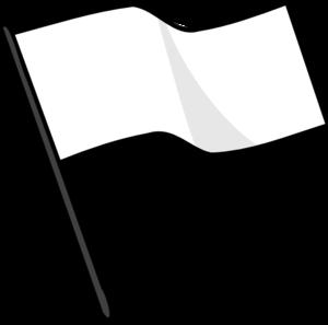 Flag Football Clipart Black And White White Flag Md Png