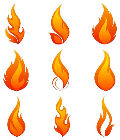 Flame clip art vector flame graphics clipart me