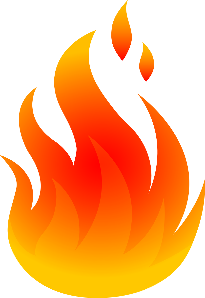 Flame Clipart - PNG Image #4322