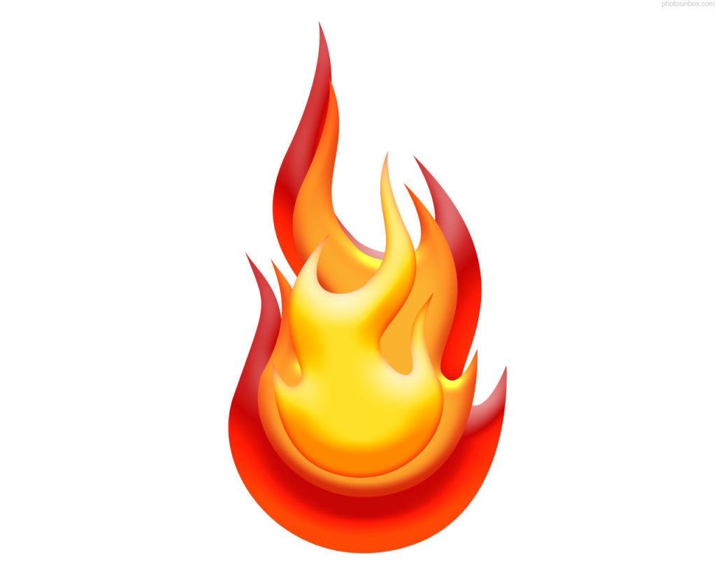 Flames red flame clipart free .