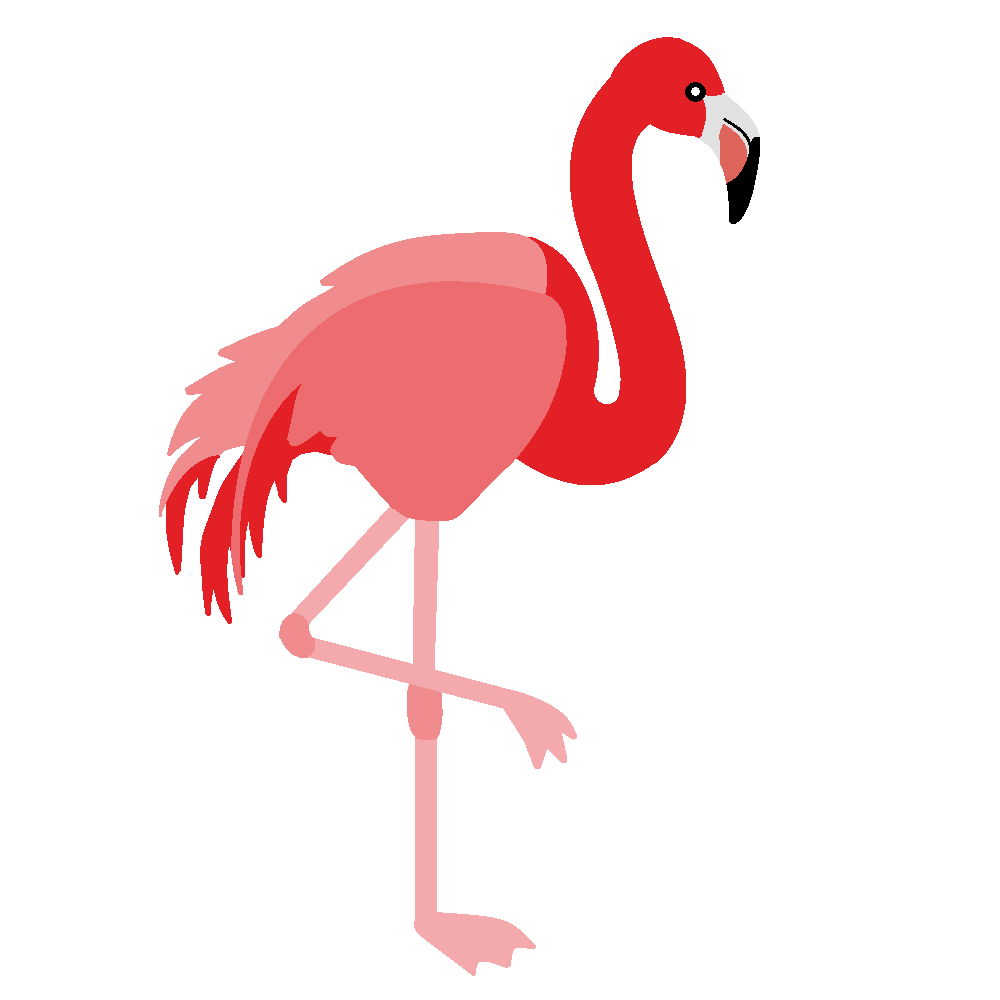 Flamingo Bird Clip Art 2 Png