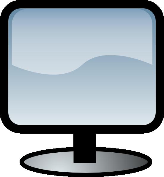 Flat Screen Clip Art At Clker Com Vector Clip Art Online Royalty