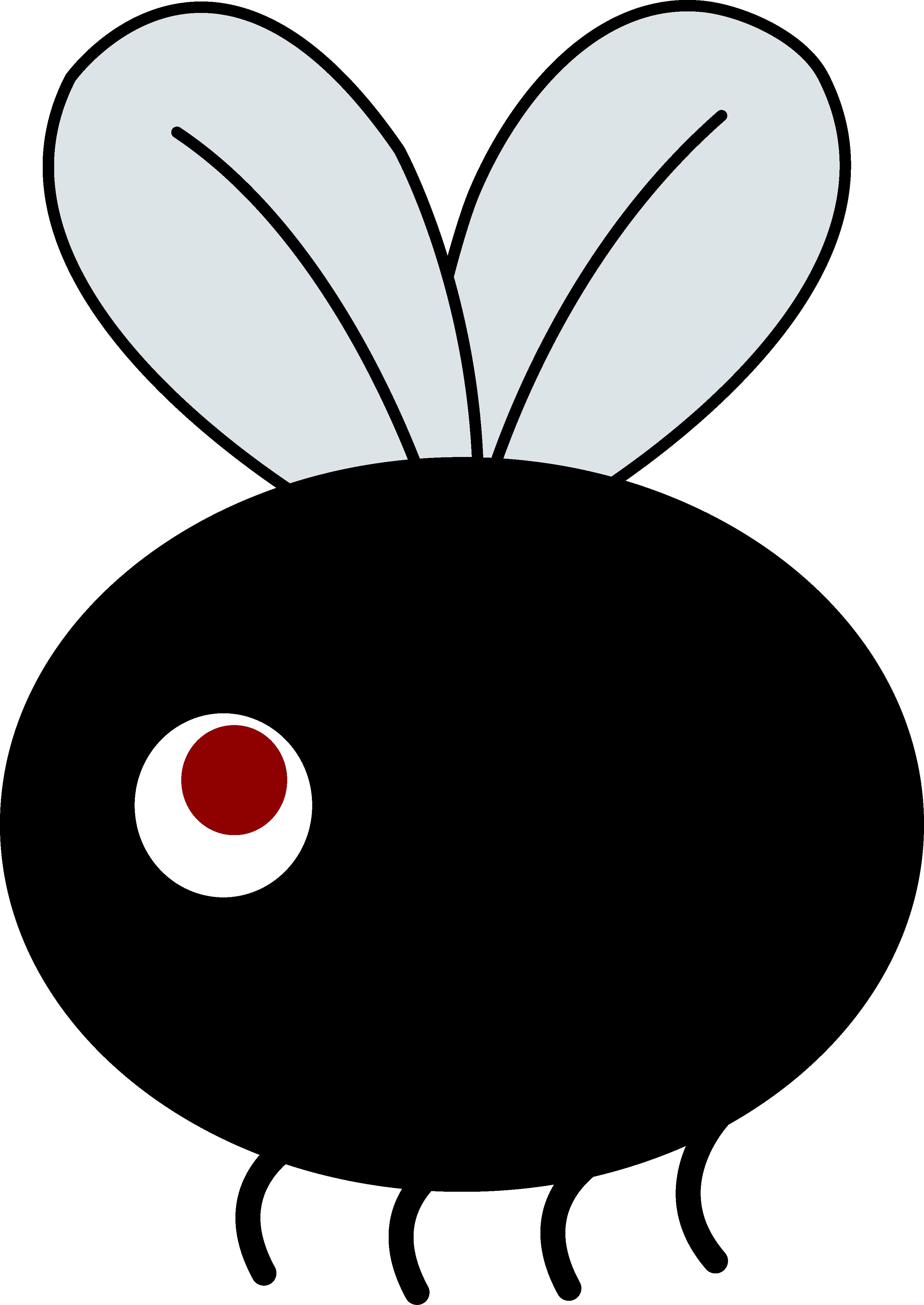 Clip Art Of Small Flies Clipart - Clipart Kid