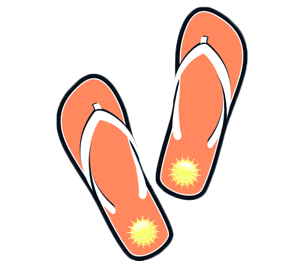 Flip flop free to use clipart 2