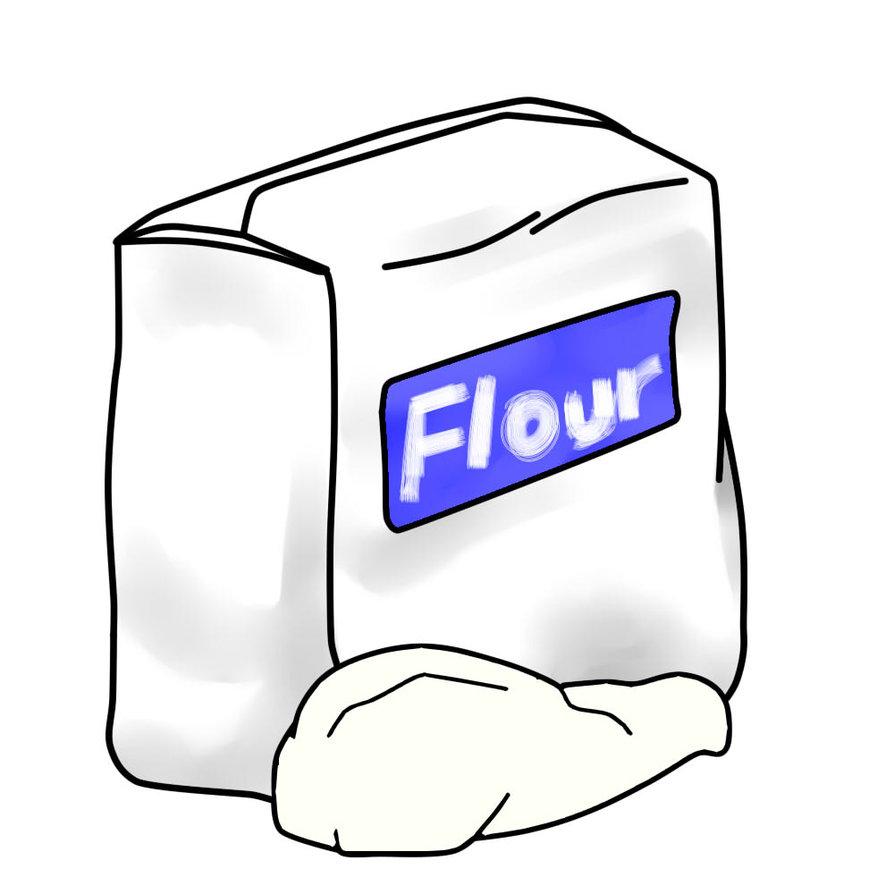 Flour Clipart #1