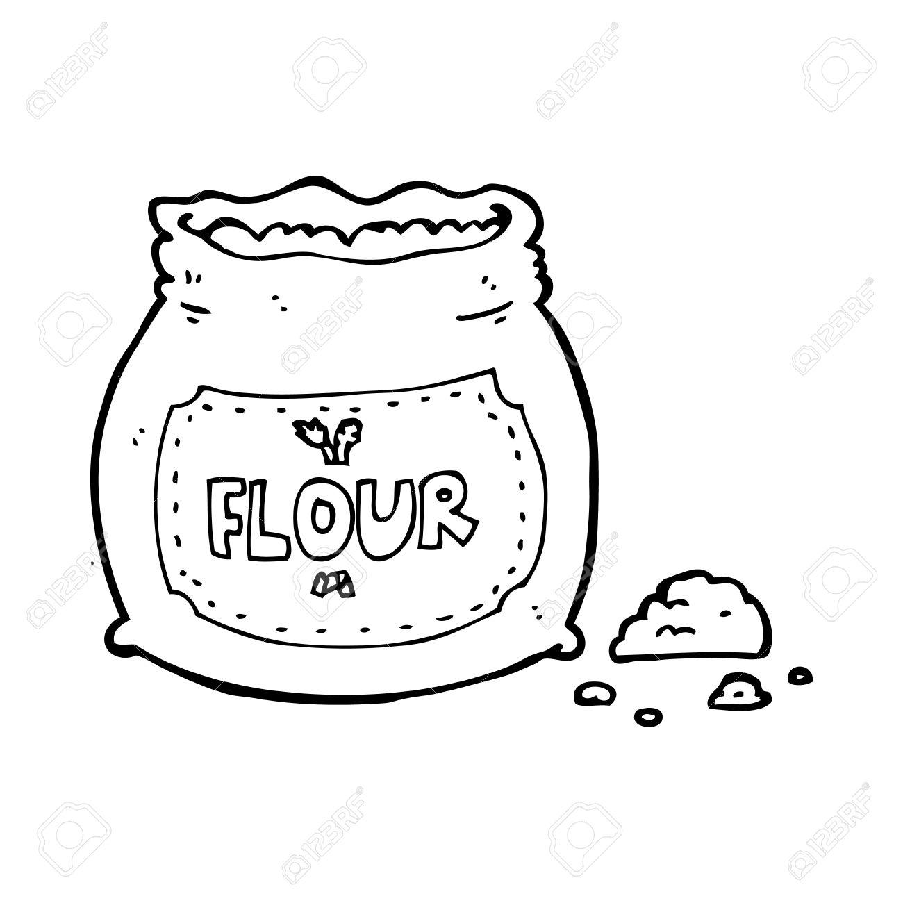 Flour clipart bag flour #6