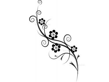 Flourish decorations flowers clip art meylah