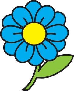 Flower Clipart Image: clip art